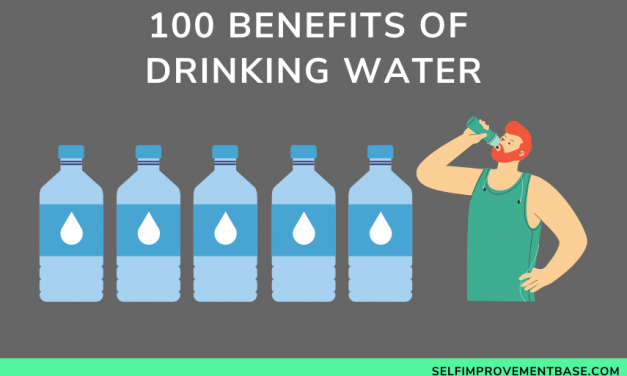 100 Benefits of Drinking Water