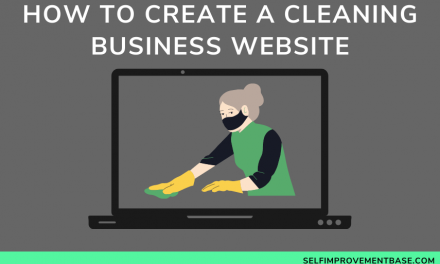 How to Create a Cleaning Business Website in An Evening