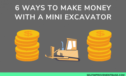 6 Ways to Make Money With a Mini Excavator